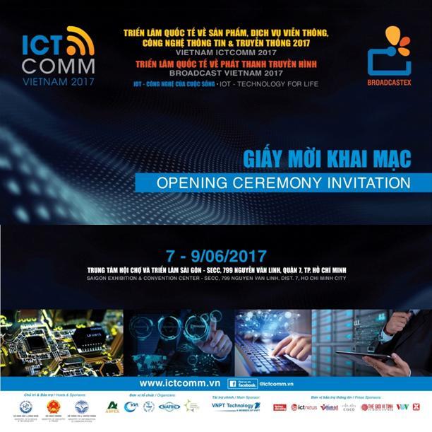 TRIỂN LÃM QUỐC TẾ VIỄN THÔNG CÔNG NGHỆ THÔNG TIN ICT COMM